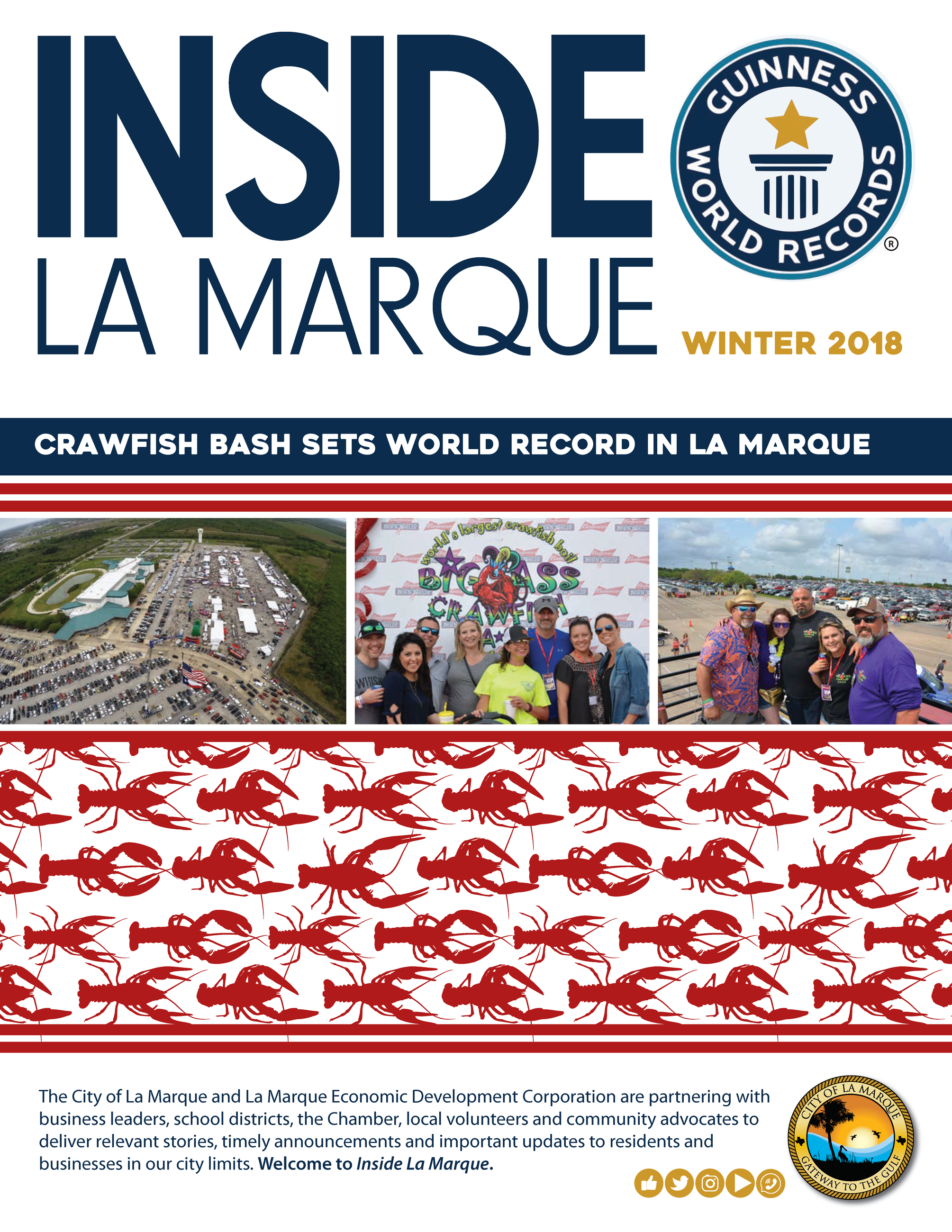 COVER Inside La Marque Winter 2018